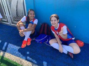 Atletas da Escola de Futebol Zico 10 Manaus